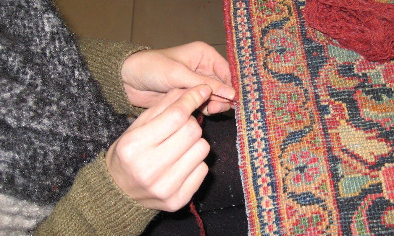 Réparation et Restauration de tapis d'orient