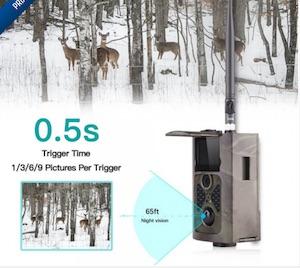 caméra infrarouge de chasse