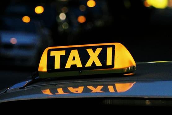 Tout l'avantage de prendre un taxi