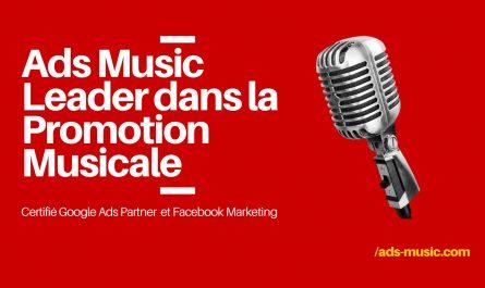 Ads Music, leader pour la promotion musicale